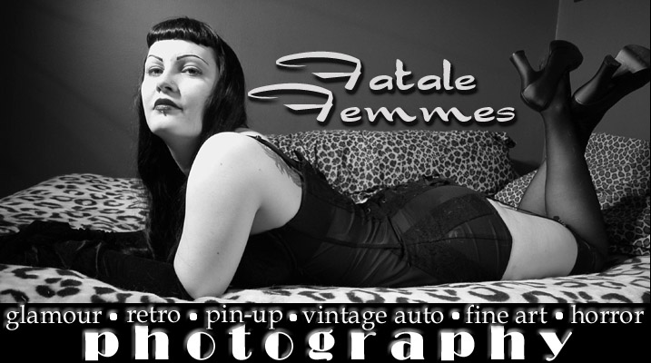 Fatale Femmes Bettie Page Pin-up Photography